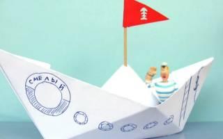 Как делать кораблик из газеты. Кораблик из бумаги: схема складывания и пошаговая инструкция, как сделать кораблик