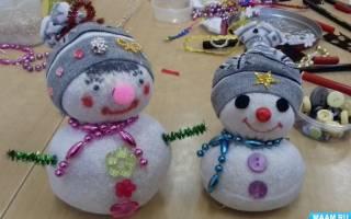 Снеговик из двух носков. Снеговик из носка своими руками пошаговая инструкция. Необходимые инструменты для создания