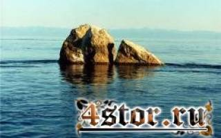 Байкал шаманский камень. Шаман-камень на Байкале: истории и легенды