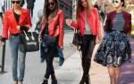 Что можно одеть под красную куртку. Модные сочетания с красной курткой. Подбираем цветовой компаньон