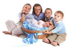 Пособия многодетным семьям. Помощь многодетным семьям от государства Помощь многодетным семьям от государства