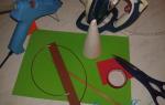 Елочка из фоамирана мастер. Елка из фоамирана: мастер-класс с пошаговыми фото. Как делается елка из фоамирана своими руками