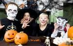 Как сделать маску вампира из бумаги. Маска на Хэллоуин своими руками для мальчиков и девочек. Как нарисовать на лице страшную маску на Хэллоуин
