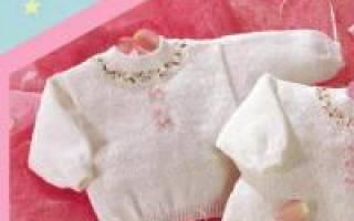 Кофта для малыша 6 месяцев спицами. Вязание детям до года спицами и крючком. Как пополнить гардероб малыша обновками ручной работы
