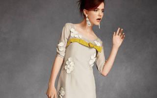 Платье и прическа 60 х