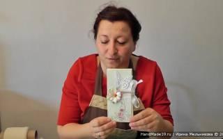 Декор шоколадницы скрапбукинг новый год. Мастер-класс по изготовлению шоколадницы в стиле скрапбукинг с пошаговыми фото и видео-уроками (отлично подойдет для начинающих). Как сделать шоколадницу своими руками