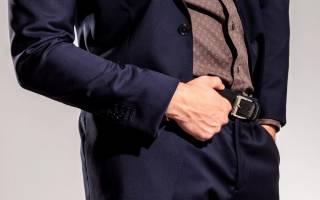 Как правильно выбрать и носить мужской ремень