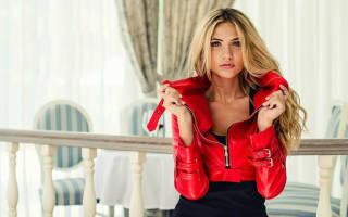 Что можно одеть с красной кожаной курткой. Косухи в стиле Милитари. Аксессуары к красной куртке