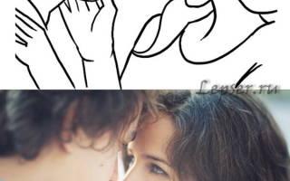 Гибкая пара влюбленных. Поэтическая прогулка» от Ryan Brenizer. «Силуеты любви» от Akos Kiss»