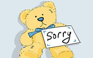Попросить прощения у любимого. Как попросить прощения у парня: мнение психологов и полезные советы