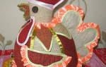 Грелка на чайник «Петушок» своими руками. Выкройки. Мастер-класс с пошаговыми фото. Объемный текстильный чайник: мастер-класс