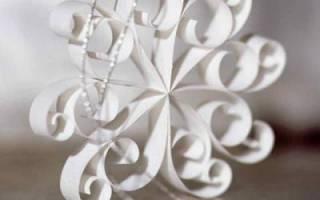 Как сделать красивую резную снежинку из бумаги. Пошаговая инструкция изготовления. Материалы и инструменты для создания снежинки своими руками из бумаги в технике квиллинг