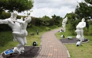 Парк любви Love Art Park. Парк эротической скульптуры Love Land
