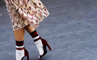 Кружевные носочки под туфли. Как женщинам носить носки с туфлями: модные идеи. Гольфы — невероятно стильная версия носков