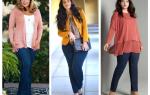 Одежда для полных женщин: особенности и нюансы выбора. Модный базовый гардероб для полных женщин и девушек (идеи на фото)