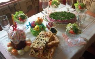 Пасхальная трапеза в россии. Традиционные варианты приготовления пасхи