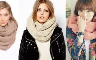 Способы одеть шарф снуд хомут на голову. Как завязывать шарф хомут. Варианты завязывания мужского шарфа