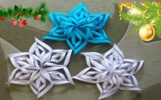 Снежинки из бумаги по. Инструкция как вырезать красивые снежинки из бумаги: секреты украшения квартиры к зиме. Необходимые материалы для оригами детской снежинки на Новый год