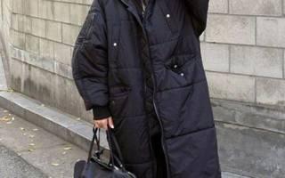 С чем носить черный удлиненный пуховик. У вас яркая внешность? неожиданных подиумных образов