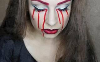 Как раскрасить лицо ведьмы. Основы рисования красками на лице