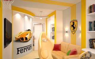 Интерьер комнаты для мальчика подростка. Дизайн комнаты для подростка мальчика: фото, стили, как выбрать мебель, как отделать. Советы по оформлению маленькой детской