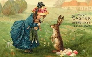 Пасхальные традиции: почему у католиков яйца несут кролики. Символы Пасхи. Когда кролик стал нести яйца