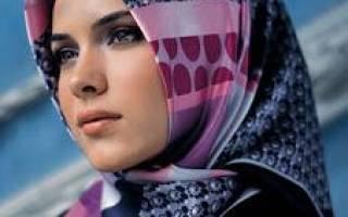 Как красиво одеть платок на голову мусульманке. Как красиво завязывать платок на голову: к пальто, по мусульмански, теплый зимой, как ободок летом, казашке. Фото и пошаговые инструкции