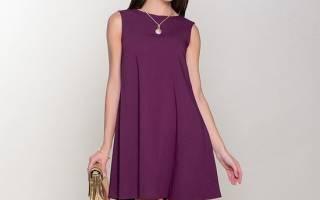 Простая выкройка платья для начинающих трапеции. Моделируем два модных платья силуэта трапеция