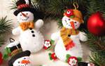 Снеговик своими руками: лучшие идеи и варианты создания различных типов поделок (95 фото). Новогодние снеговики своими руками: лучшие идеи и мастер-классы с фото
