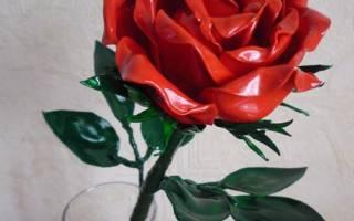 Цветы из пластиковых ложек: розы. Розы из пластиковых ложек своими руками. Мастер-класс с пошаговым фото