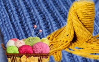 Английская резинка схема. Схема вязания шарфа английской резинкой. Двойная резинка — подробная технология вязания с нуля