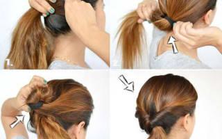 Прически на длинные волосы своими руками в домашних условиях. Пошаговые инструкция, фото. Быстрые прически на длинные волосы с локонами. Идеи для коротких и средних волос