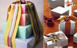 Как завернуть прямоугольный подарок в оберточную бумагу. Как упаковать подарок в подарочную бумагу: оригинальные идеи