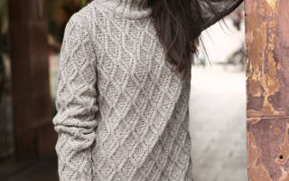 Обычный свитер спицами. Вязаные кофты: создаем шедевр спицами