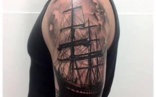 Что означает татуировка корабля. Татуировка парусник