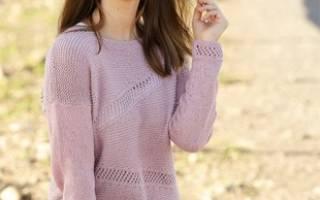 Вяжем джемпер, свитер, пуловер. МК с описанием, схемы и видео. Простая схема вязания спицами свитера: удобно и бесплатно