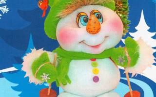 Как сделать снеговика своими руками: подборка мастер классов. Как сделать Cнеговик своими руками на Новый год из подручных материалов: быстрый мастер класс с пошаговым фото