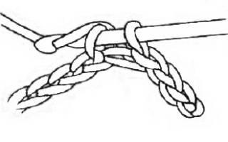 Вязание крючком — основные столбики. Соединительный столбик крючком без накида с фото и видео