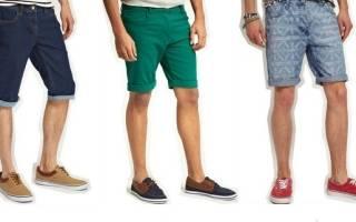 Шьем мужские шорты. Выкройка мужских шорт на весенне-летний период