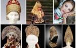 Разработка методики преподавания истории традиционной одежды русских крестьян южного алтая. Старинный женский головной убор. Как одевались женщины на Руси