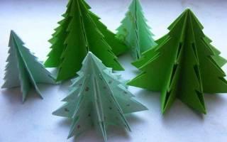 Как сделать елку на новый. Елка из бумаги своими руками — оригинальные идеи. Этапы изготовления такой елки