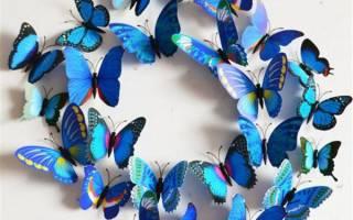 Бабочки на ниточках из бумаги своими руками. Как вырезать бабочку из бумаги: несколько способов на любой вкус