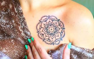 Существует ли временный татуаж