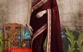Как одевать сари из простыни. Рассмотрим, как надевать и носить традиционное сари