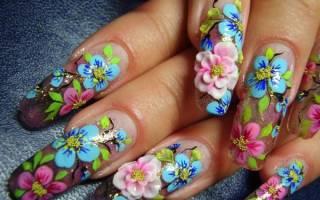 Акриловая пудра для ногтей: как ее наносить? Виды акриловой пудры. Видео процедуры наращивания ногтей акрилом на типсах
