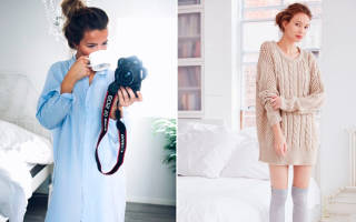 Почему важно одеваться дома красиво. Как быть красивой дома