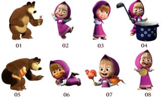 Интересные костюмы на новый год для взрослых. Костюм Маши из мультфильма «Маша и Медведь». Костюм Снежной королевы