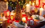 Традиционные новогоднего стола и их украшения. Как украсить новогодний стол: декор своими руками. Мастер-класс, идеи и описание
