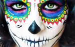 Как сделать страшную маску в домашних условиях. Маска на Хэллоуин своими руками для мальчиков и девочек. Как нарисовать на лице страшную маску на Хэллоуин