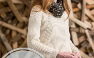 Как связать самой свитер. Вяжем джемпер, свитер, пуловер. МК с описанием, схемы и видео
